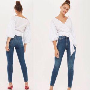 Topshop Jamie Jeans 25/32. Worn once!!